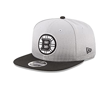 premium selection a8e3b 94b52 NHL Boston Bruins Flow Team Snap Black 9Fifty Cap, One Size, Gray