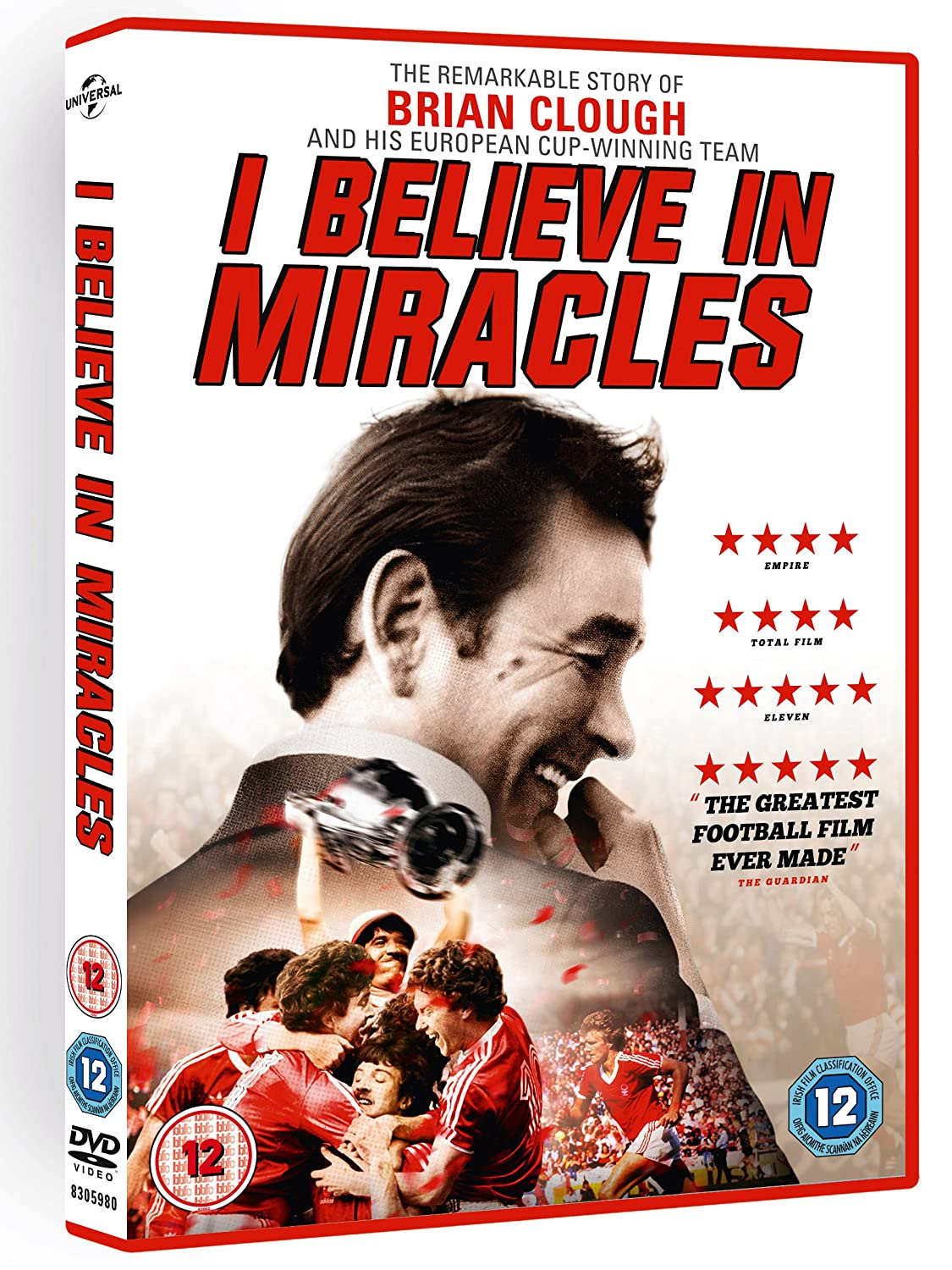 Brian Clough: I Believe in Miracles [DVD] [2015]: Amazon.co.uk ...