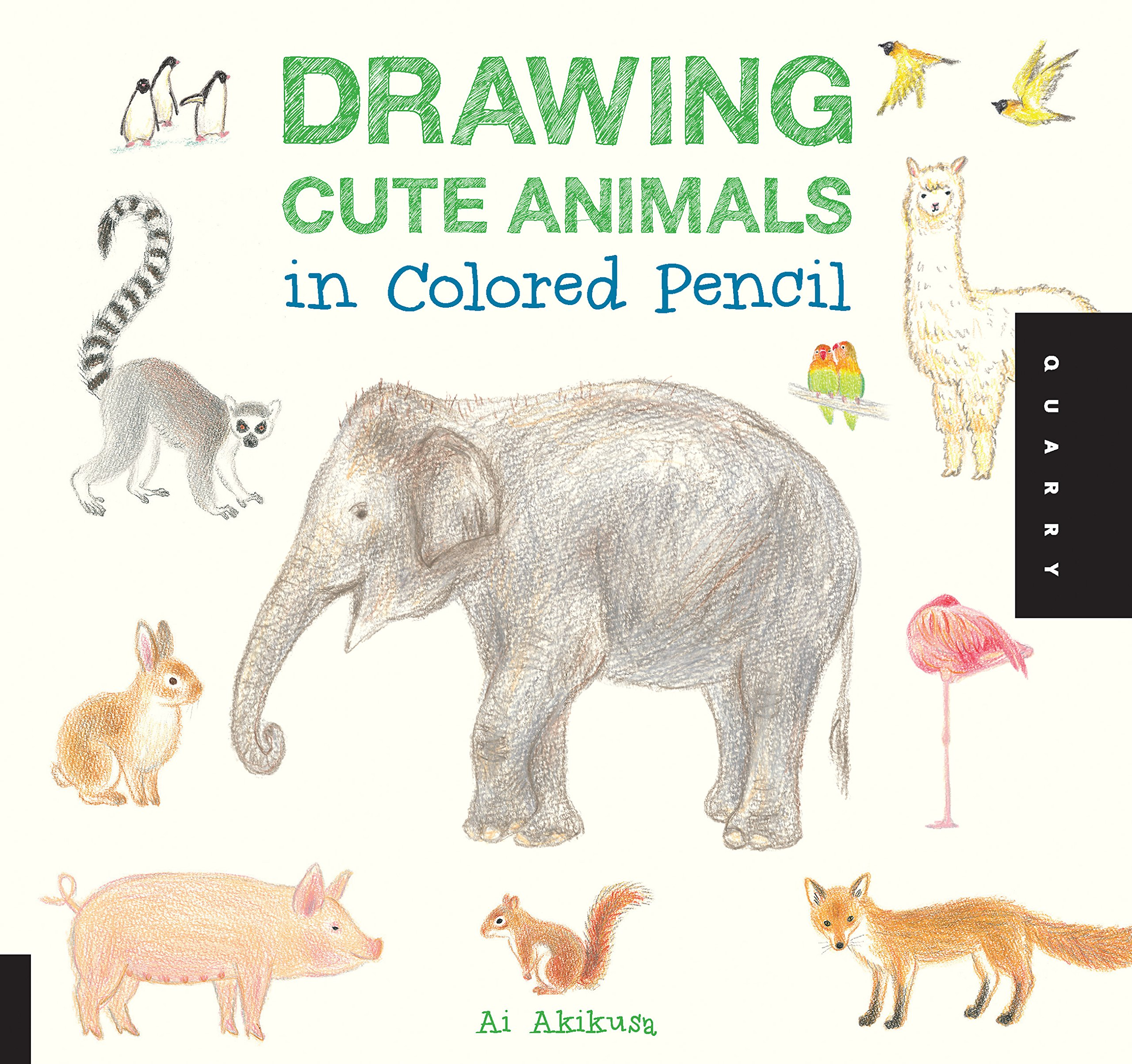 Drawing Cute Animals In Colored Pencil Ai Akikusa