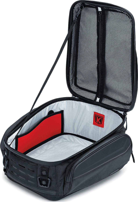 Weather Resistant Motorcycle Travel Luggage with Mounting Straps Black Kuryakyn 5256 XKursion XB Ambassador Tail Bag