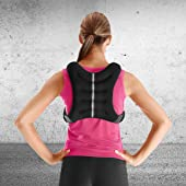back facing tone fitness weighted vest