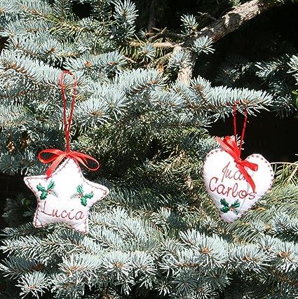 6cbfc8e5de071 PRIMERAEDAD Adorno de Navidad personalizado con tu nombre(el precio es por  unidad)