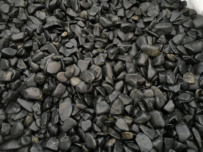 Velestone 50 Sacos 20 kg. Cantos rodados Jardin (24-40, Negro Pulido): Amazon.es: Jardín