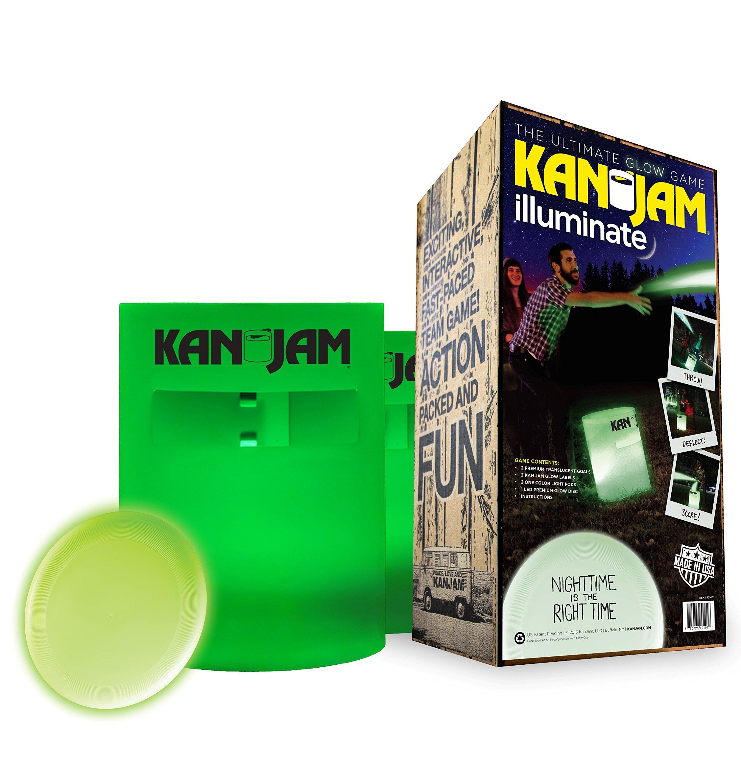 Kan-Jam Illuminate Glow Game Set