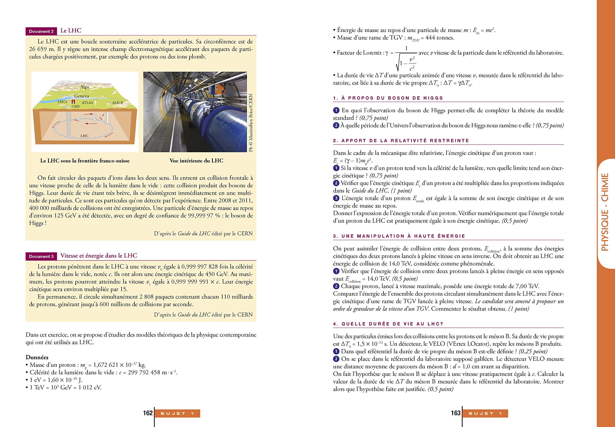 Annales Annabac 2015 Lintégrale Bac S: sujets et corrigés en maths, physique-chimie et SVT: Amazon.es: Collectif: Libros en idiomas extranjeros