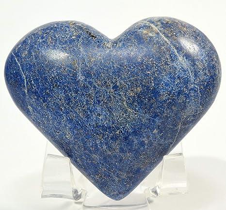 Amazon.com: Dumortierita azul peruana de 2.362 in con forma ...