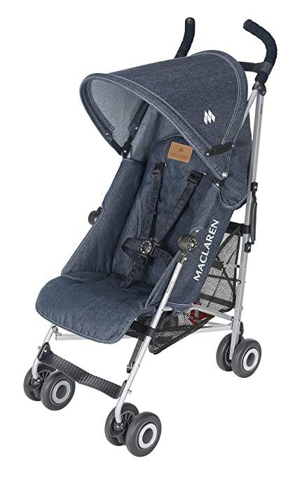 Maclaren Quest Stroller, Denim Indigo by Maclaren
