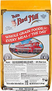 product image for Bob's Red Mill Organic Old Fashioned Rolled Oats, 25 Pound