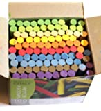 Creation Station Dustless Blackboard Chalk, Multi-Colour