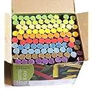 Creation Station AM561 100 Dustless Blackboard Chalk, 10, Multi-Colour
