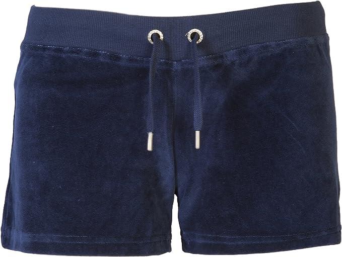 velour shorts womens