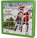 English Tea Shop Joyous X'mas Advent Calendar Nylon Pyramid, 50 Gram