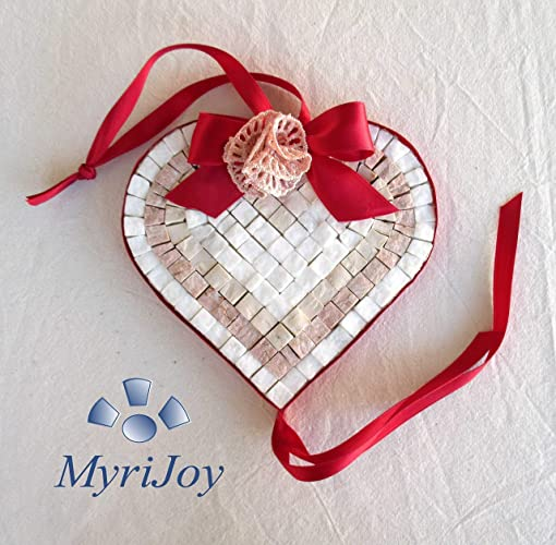 Make Your Own Mosaic Art Red Heart Diy Craft Kit For Adults