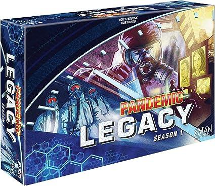 Pandemic Legacy Board Game Blue Season 1