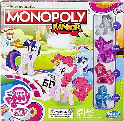 Hasbro - Monopoly para niños «My Little Pony Friendship is Magic»: Amazon.es: Juguetes y juegos