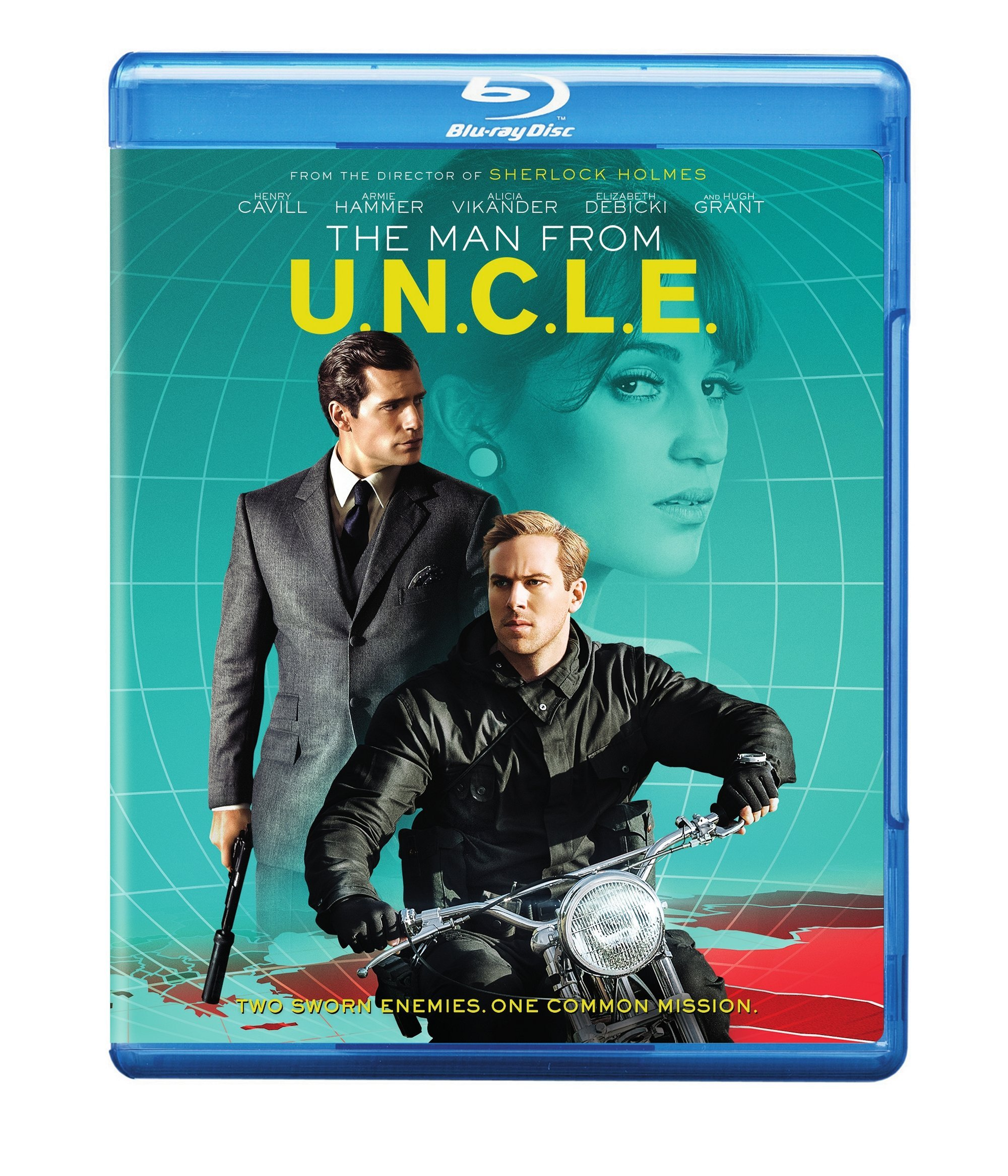 Blu-ray : The Man From U.N.C.L.E. (With DVD, , Dolby, AC-3, 2 Pack)