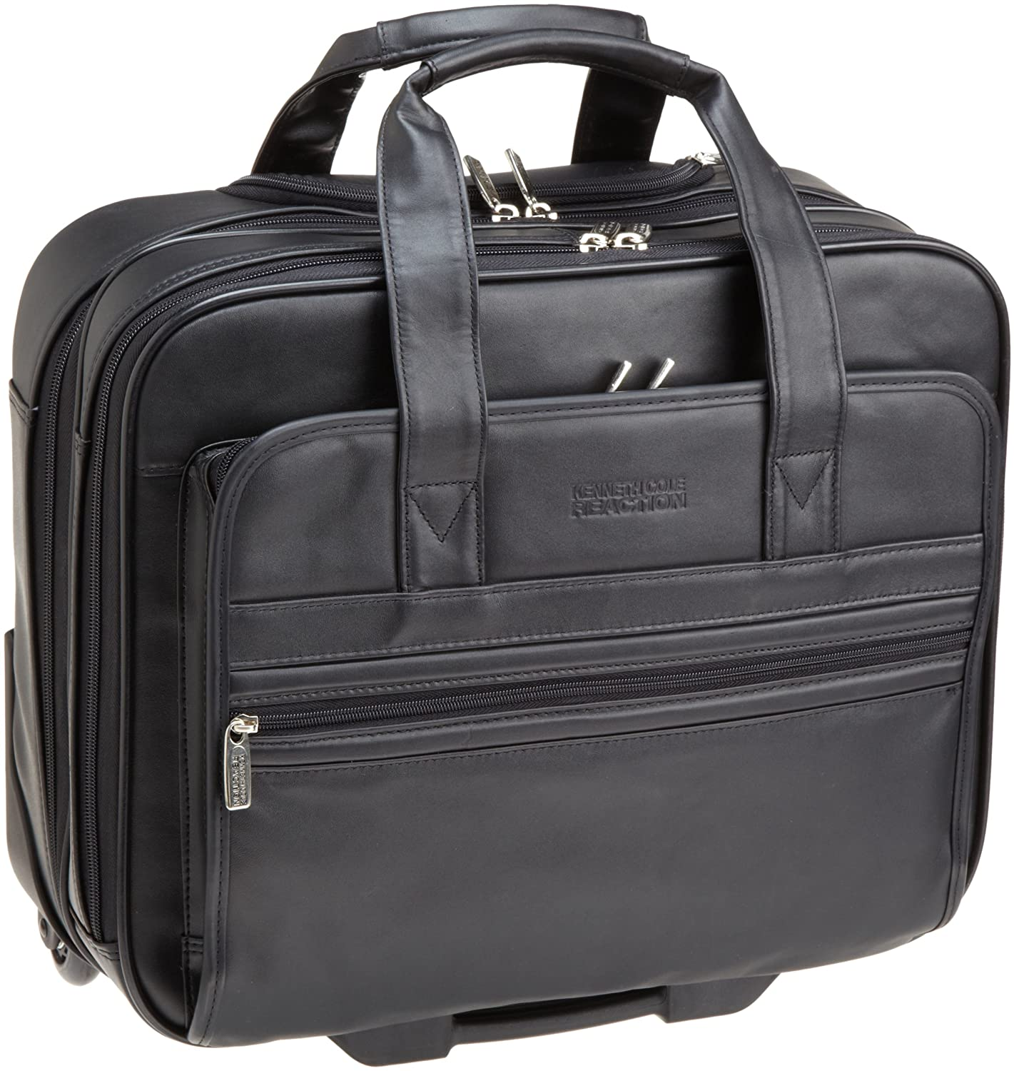 Amazon.com | Kenneth Cole Reaction Luggage Keep On Rollin, Black ...