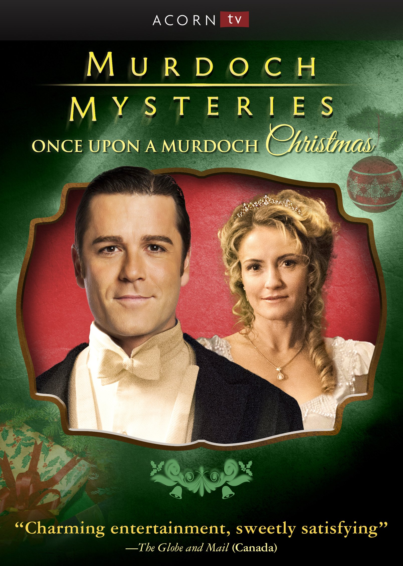 DVD : Murdoch Mysteries: Once Upon A Murdoch Christmas (DVD)
