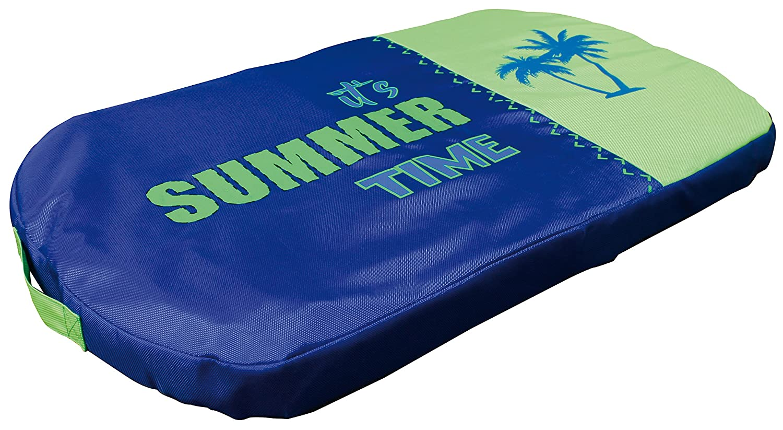 CROCI Dog Pillow, Summer Fresh blue Green, 81 cm x 51 cm x 6 cm
