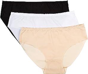 04ea2dd6227 Panmanni Women s Underwear Invisible Seamles Bikini Plain Assorted Colors