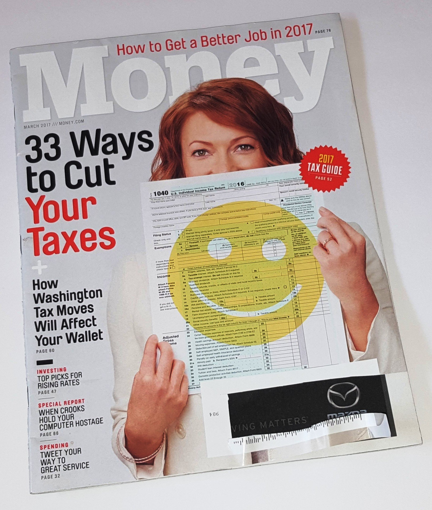 Download Money March 2017 33 Ways to Cut Your Taxes - 2017 Tax Guide PDF