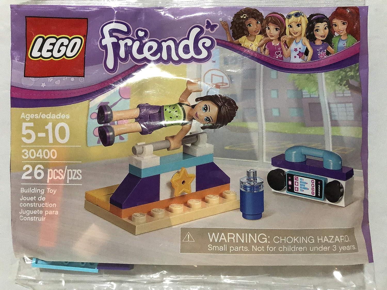 LEGOFriends Stephanie/'s Gymnastics Show Bundled with Lego Friends Gymnastics PolyBagged
