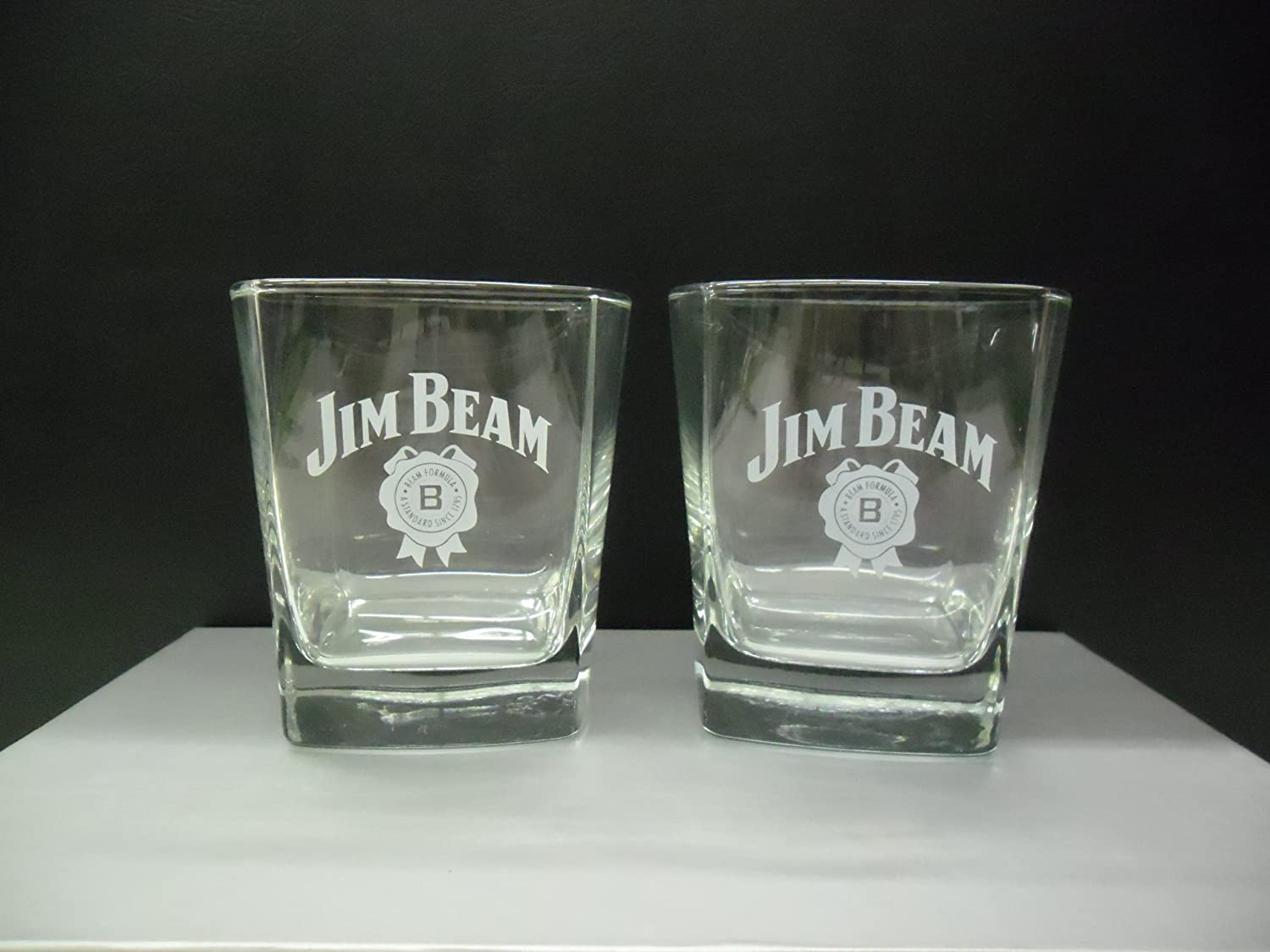 Jim beam glass