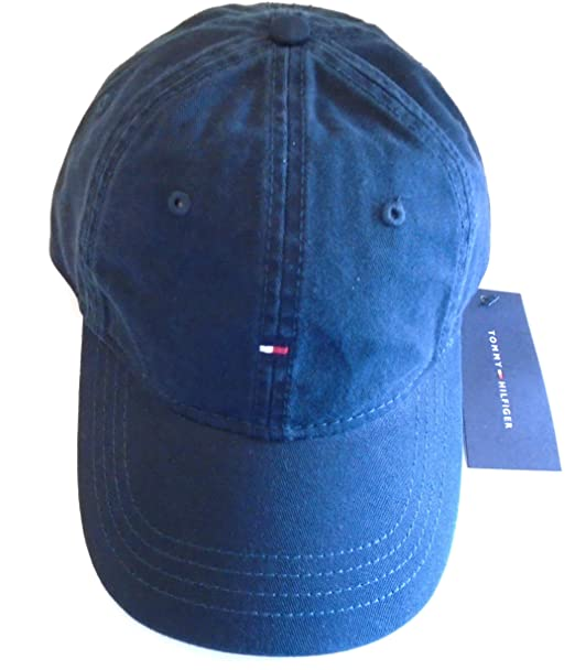 96042c40e17 Tommy Hilfiger Original Micro Flag Classic Cap Baseball Hat (Core Navy  Blue)  Amazon.ca  Clothing   Accessories