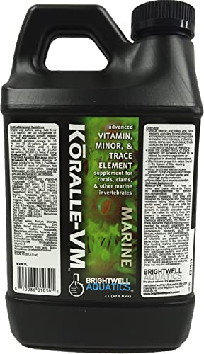 Brightwell Aquatics Koralle-VM Vitamin and Mineral Supplement for Corals and Clams