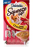 Hartz Delectables Squeeze Up Cat Treat, 4Ct (Pack of 8)
