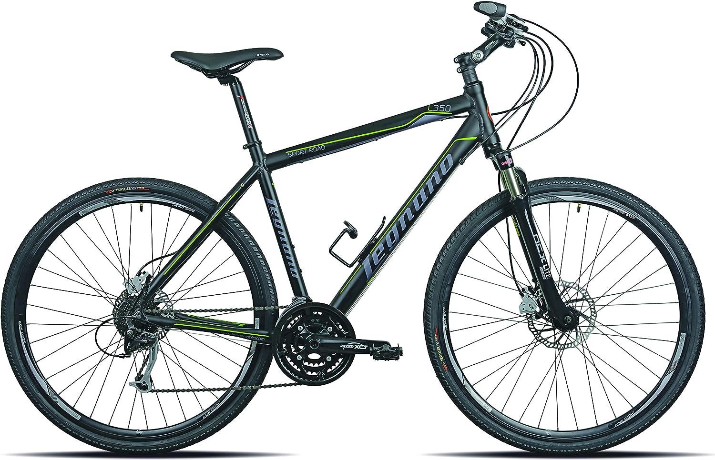 Legnano Ciclo 350 Sport Road, Bicicleta de Trekking para Hombre ...