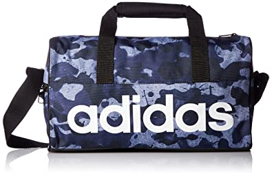 cdb8be5d9b Image Unavailable. Image not available for. Colour  Adidas Bag Linear  Performance Fitness Training Yoga Workout Teambag S99953 Size XS