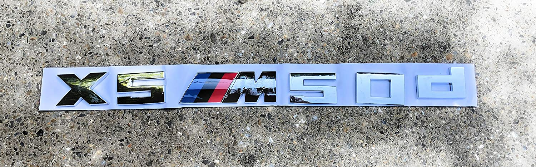 E53 E70 F15 X5 50d M-Sport emblema para puerta trasera