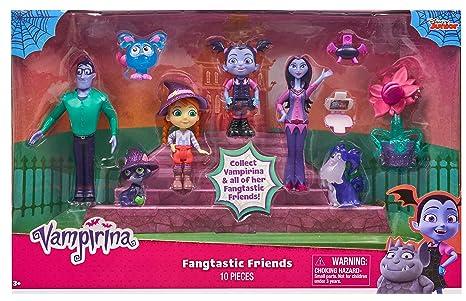 Amazon Com Vampirina Fangtastic Friends Toy Activity Role Play Sets