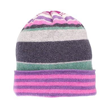 Mackie Robert casuale a strisce cappello di lana a maglia multicolore   Amazon.it  Abbigliamento eeee2d69efc2