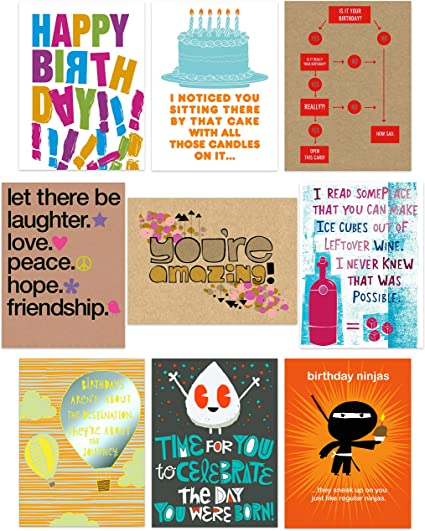 Birthday Card Multipack Of 10 Cards Multipack Of Birthday Cards Adults Birthday Cards Multipack Funny Set Of Birthday Cards Pack Of Birthday Cards Funny Birthday Card Bundle Of 10 Cards Amazon Co Uk Office