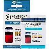 pH Test Strips for Kombucha Brewing 0-6 (0.5 Intervals) 100pc Kit