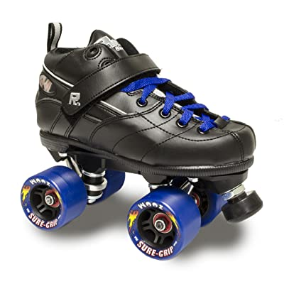 Sure-Grip Rock GT50 Zoom Roller Skates W/Blue Zoom and Blue LACE : Sports & Outdoors