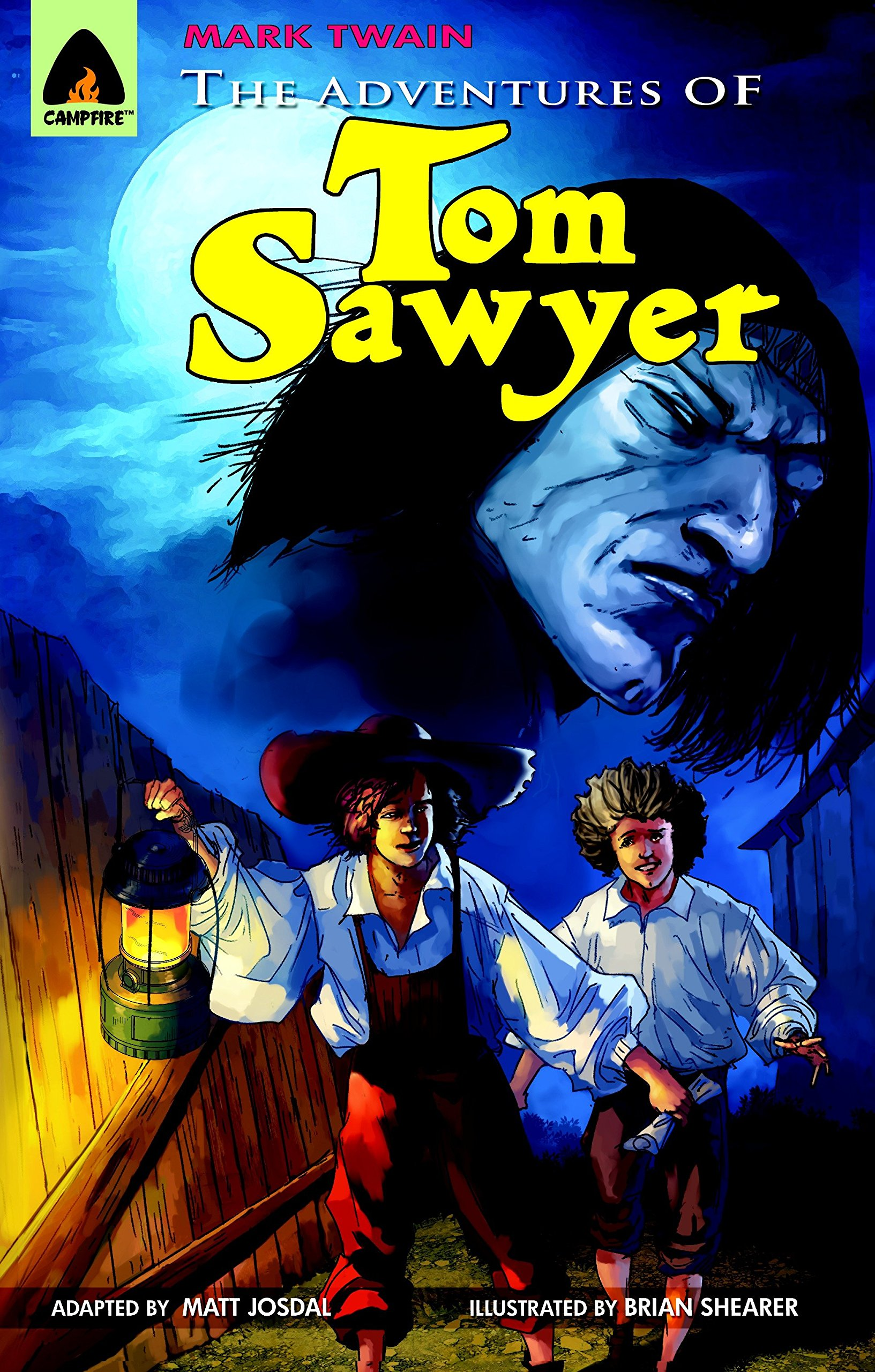 The Adventures of Tom Sawyer: A Novel (Campfire Graphic Novels)