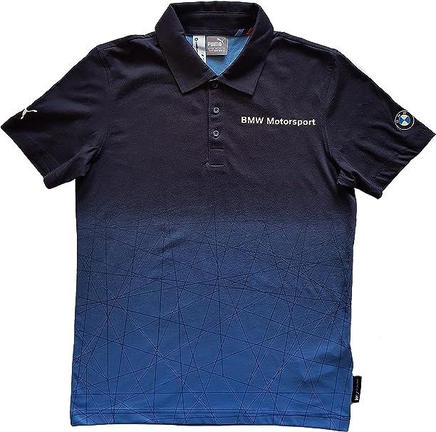 PUMA BMW MSP Gradient Polo Mens BMW Team Blue - Small: Amazon.es: Ropa y accesorios