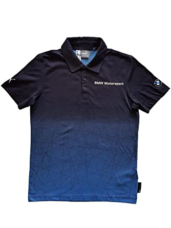 Puma BMW MSP Gradient Polo Mens BMW Team Blue - Small  Amazon.es  Ropa y  accesorios 8a7a7a7cc670e