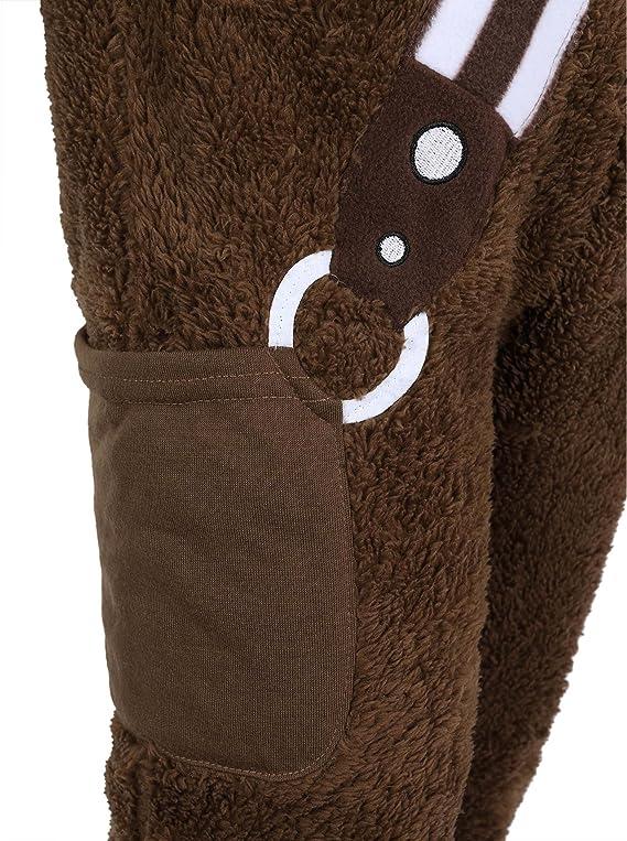 Star Wars -:- Disney -:- Pijama marrón Chewbacca: Amazon.es: Ropa ...