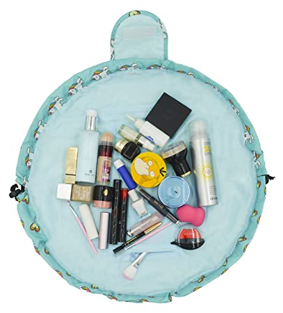 ccc2571153bd Adigow Portable Drawstring Makeup Bag Large Capacity Lazy Cosmetic  Organizer Pouch Magic Travel...