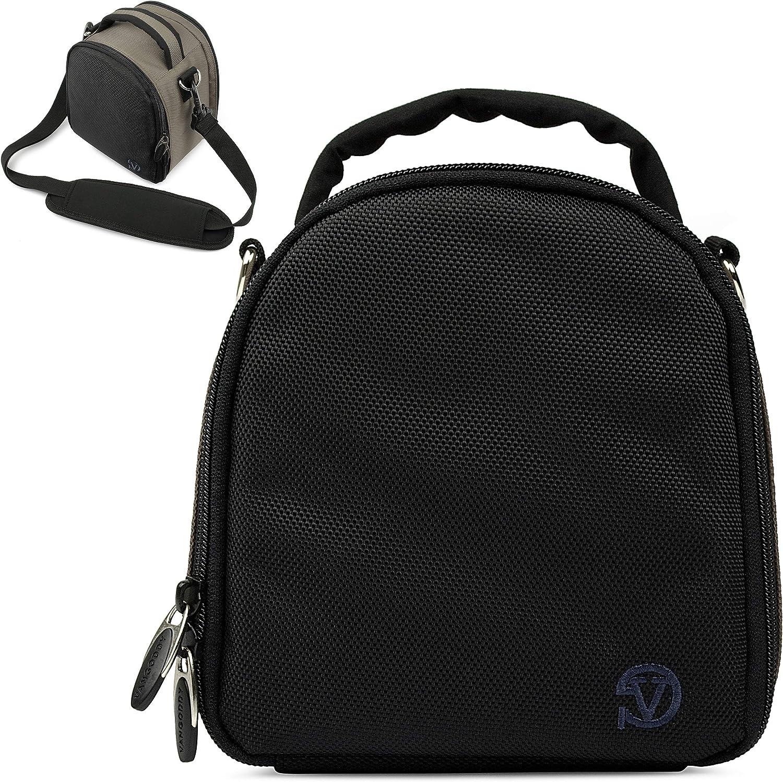 VanGoddy Laurel Steel Gray Carrying Case Bag for Canon VIXA Series Camcorders