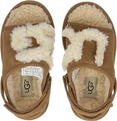 b7ea8a7e456d Amazon.com  UGG Kids Womens Slide (Toddler Little Kid Big Kid)  Shoes