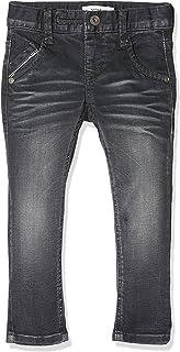 NAME IT Jungen Slim Fit Jeans Hose NKMSilas DNMThorsten blau Größe 92 bis 164
