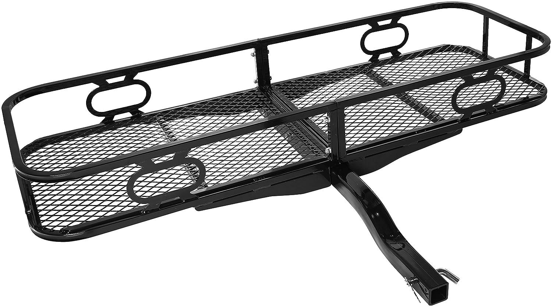 Portaequipajes con soporte a enganche de remolque Basics