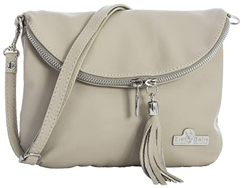 LIATALIA Real Italian Soft Leather Messenger Cross Body Shoulder Bag  Mini Small Size - AMY 40046e952fdc0