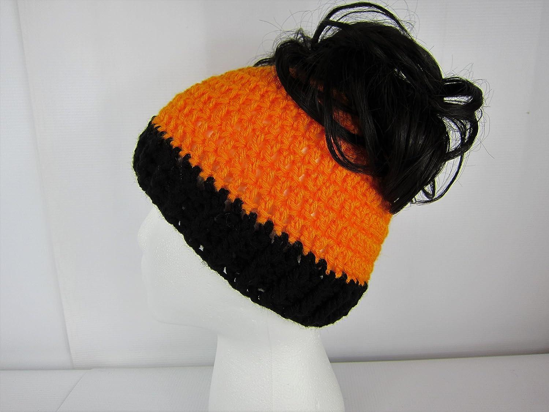 7805a7da51c Amazon.com  Messy Bun Hat