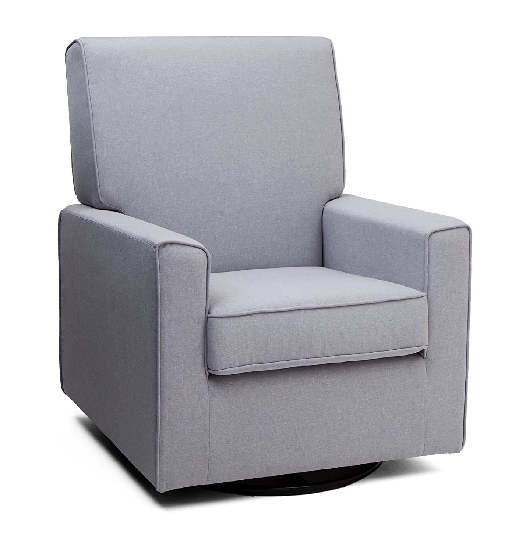 Amazon Delta Furniture Eva Upholstered Glider Swivel Rocker